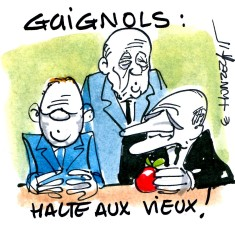 Guignols (Crédits : René Le Honzec Contrepoints.org, licence CC-BY 2.0)