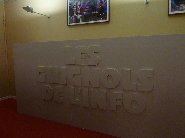 Les guignols de l'info credits Julia Buchner via Flickr ((CC BY-ND 2.0) )