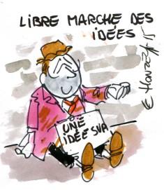 Libre marché des idées René Le Honzec