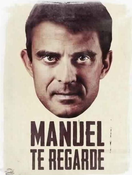 Loi sur le renseignement anti-constitutionnelle ? Manuel-Valls-Manuel-te-regarde