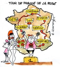Tour de France de la rose