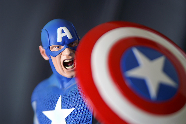 captain america credits Andy Roth via Flickr ((CC BY 2.0))