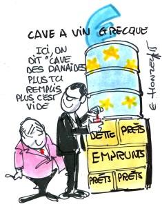 cave à vin grecque rené le honzec
