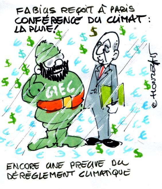 conférence climat paris rené le honzec