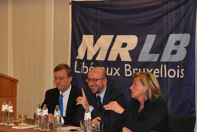 Rencontre MRLB Charles Michel credits Christian de Wolf via Flickr ( (CC BY-NC-ND 2.0)