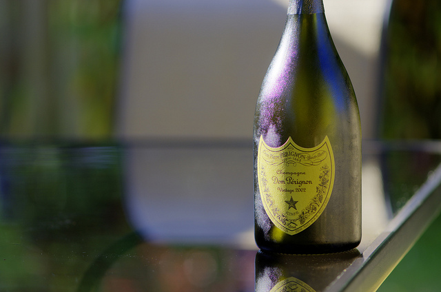 Dom Perignon 2002 credits FlackJacket2010 via Flickr ((CC BY 2.0)