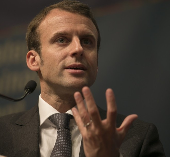 Emmanuel Macron - Crédit Photo : OECD Development Center via Flickr (CC BY-NC-ND 2.0