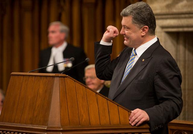 Le PM Harper accueille le Président ukrainien Petro Porochenko au Canada credits Stephen Harper (CC BY-NC-ND 2.0)