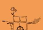 Une rose et un balai, de Michel Simonet