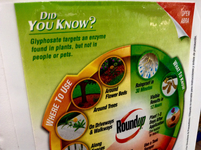 Mike Mozart Roundup monsanto (CC BY 2.0)