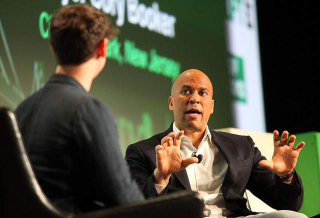 Photo7 (Cory Booker) credits Techcrunch (CC BY 2.0)