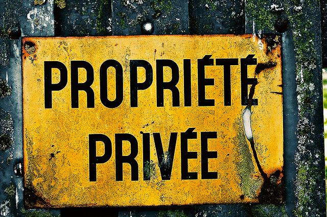 """Résultat de recherche d'images pour """"la propriété privée"""""""