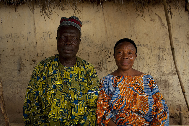 woman and man Benin credits word bank photo collection via Flickr ( (CC BY-NC-ND 2.0)