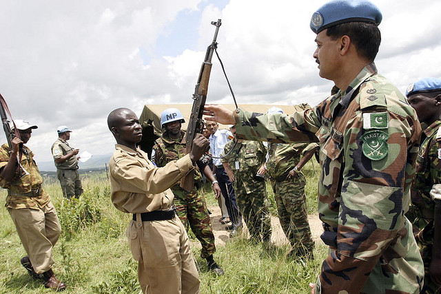 United Nations Operation in Burundi Disarms Rebel Forces credits United Nations Photo via Flickr ( (CC BY-NC-ND 2.0)