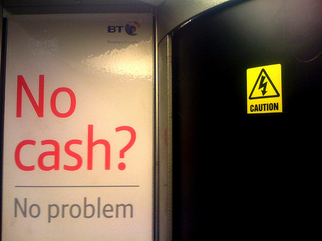 Alexaander Baxevanis-No cash no problem(CC BY 2.0)