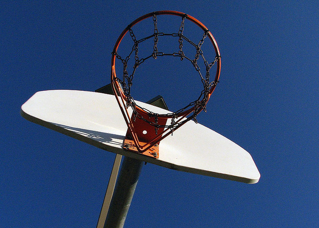 Basketball and Blue Sky credits Dayland Shannon (CC BY-NC 2.0) via Flickr ( (CC BY-NC 2.0)