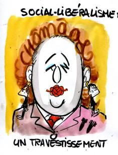 Qu'est ce que le social-libéralisme ? Caricature de René Le Honzec