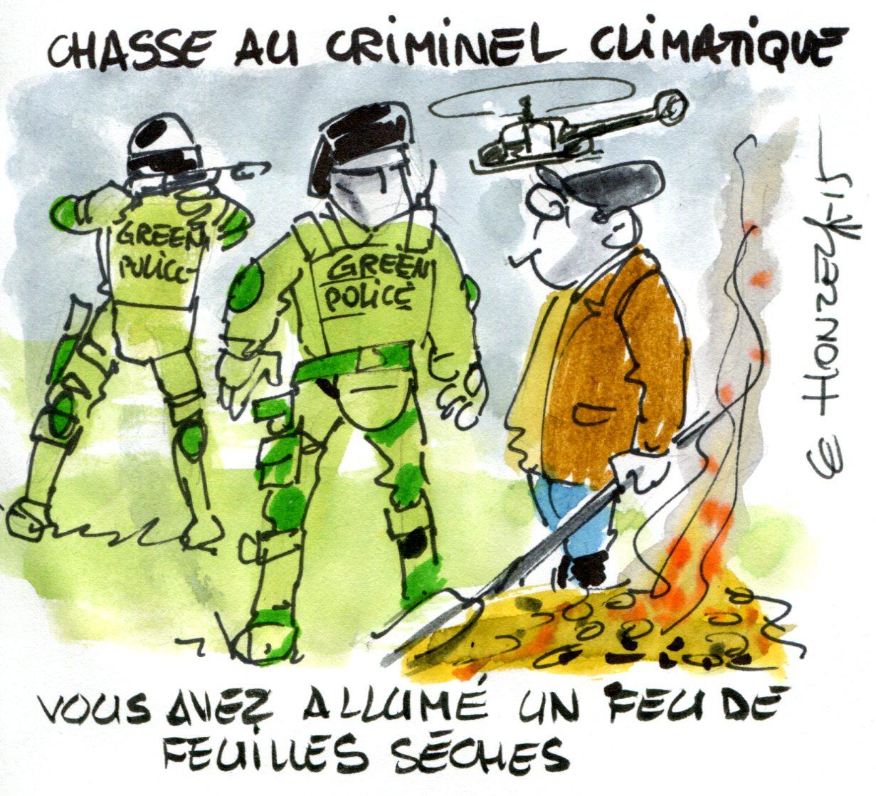 Contrepoints812 - changement climatique - René Le Honzec