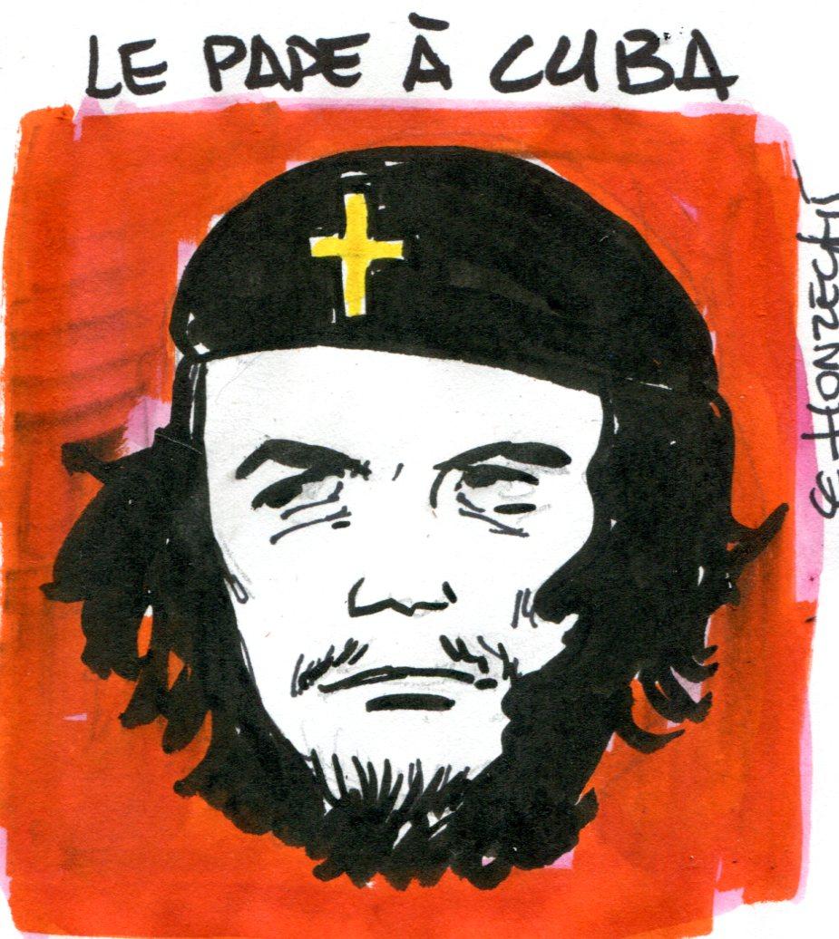 Contrepoints823 - Pape à Cuba - René Le Honzec
