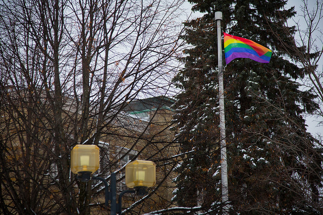 Ville de Victoriaville-drapeau gay (CC BY-ND 2.0)