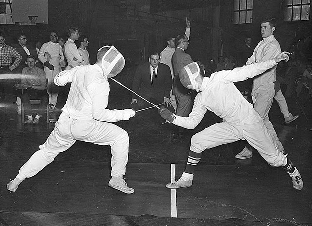 Fencing duel credits uwdigitalcollections via Flickr ( (CC BY 2.0)