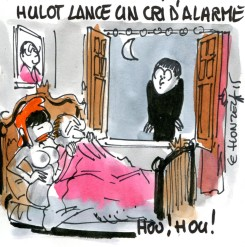 Nicolas Hulot lance un cri d'alarme