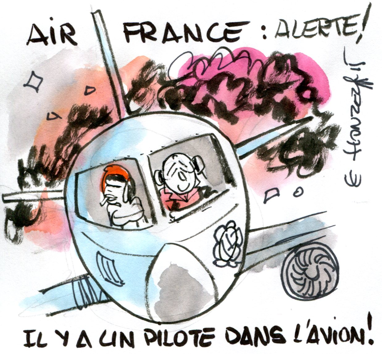 Contrepoints920 - Air France - René Le Honzec