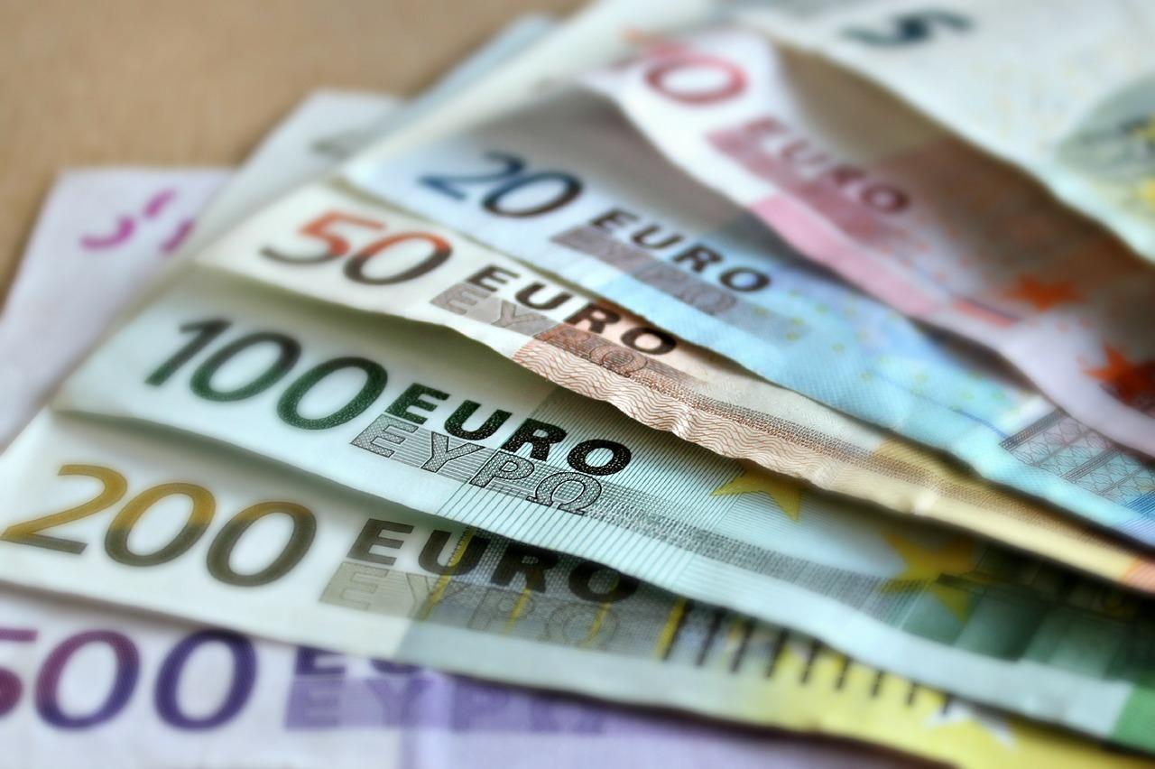Euros - billets de banque (domaine public)