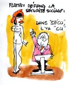 Hollande sécu rené le honzec