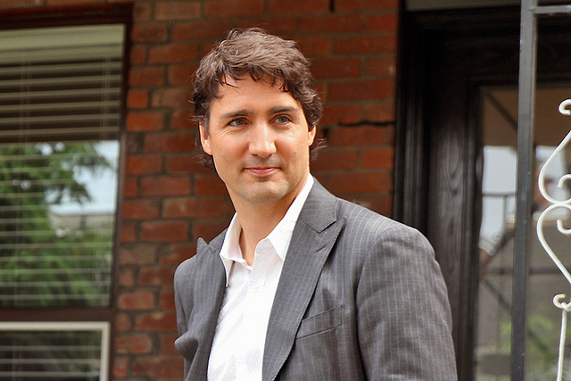 Justin Trudeau by Alex Guibord(CC BY-ND 2.0)