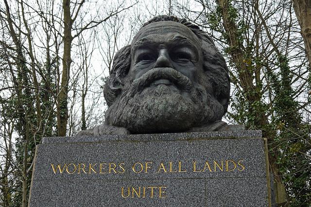 Marx at Highgate credits DncnH (CC BY 2.0)