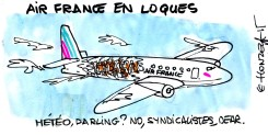 Air France en loques