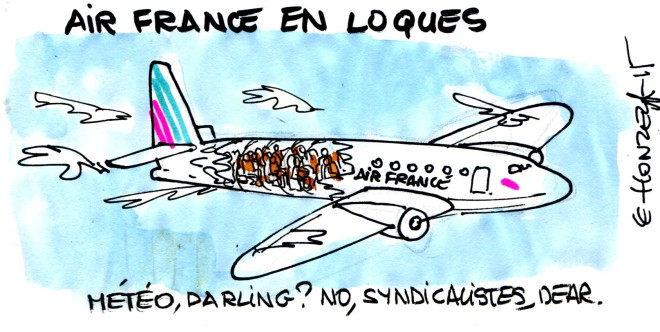 air france en loques rené le honzec