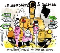 Le gendarme à Damas