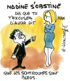 Nadine s'obstine
