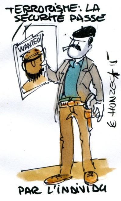 Terrorisme sécurité individu René Le Honzec