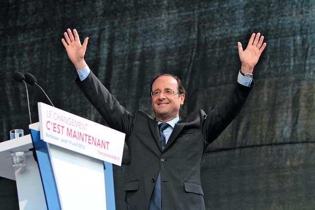 François Hollande-Parti Socialiste-Mathieu Delmestre(CC BY-NC-ND 2.0)