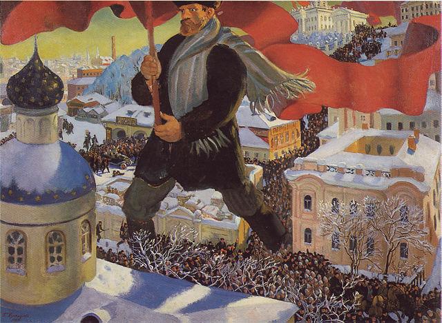 Kustodiev_The_Bolshevik-domaine public
