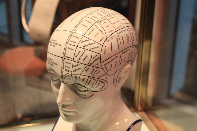 Phrenology credits Ryan Somma (CC BY 2.0)