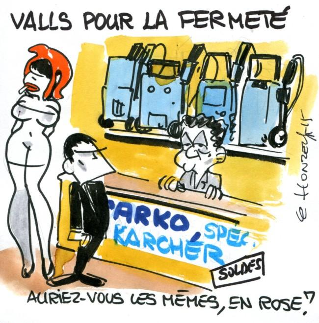 Valls fermeté rené le honzec