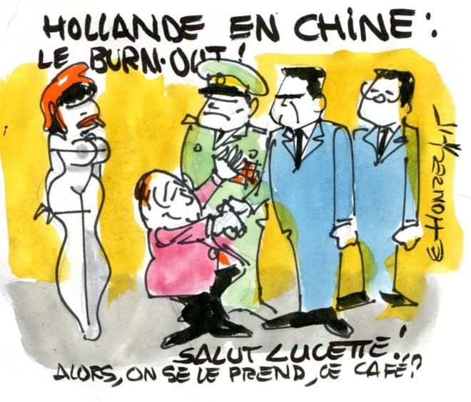 burnout francois hollande rené le honzec