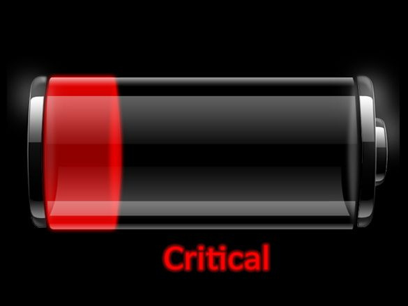 intel free press-critical battery icon(CC BY-SA 2.0)