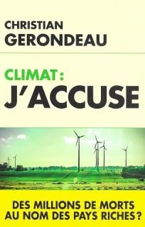 Christian Gerondeau climat j accuse