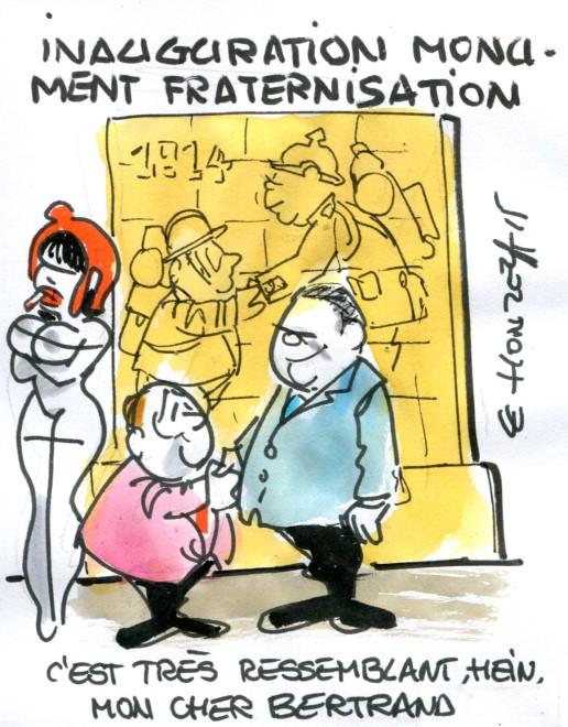 Fraternisation rené le honzec