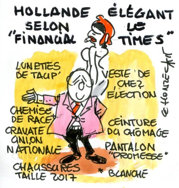 Hollande élégance rené le honzec