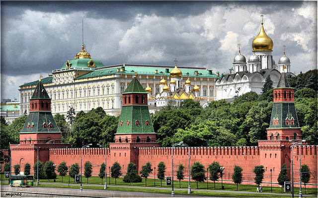 Kremlin by Larry Koester(CC BY 2.0)