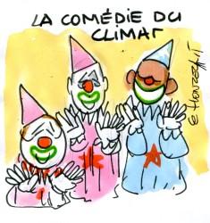 La comédie du climat rené le honzec