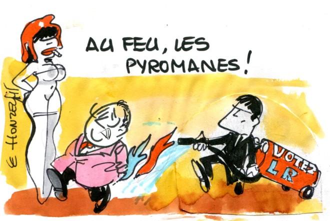 Front Républicain pyromane René Le Honzec