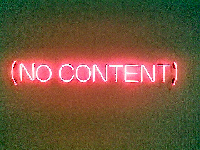 no content Chris Dlugosz(CC BY 2.0)