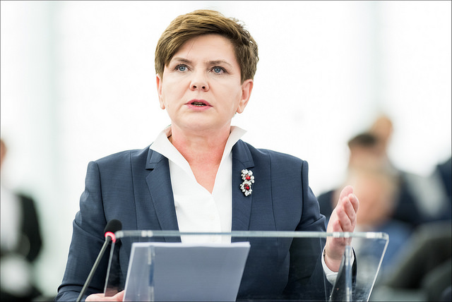 Beata Szydło-European Parliament(CC BY-NC-ND 2.0)